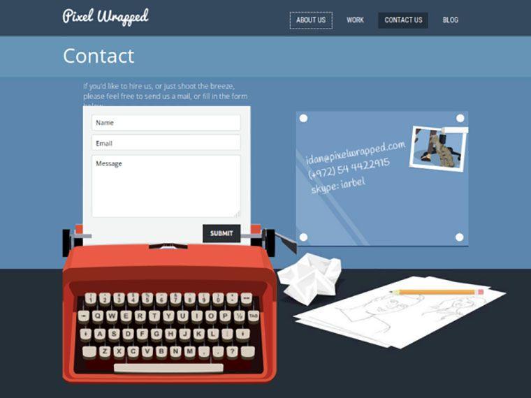blog contactpagina c