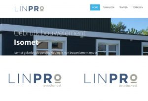 LinPro logo design optie 1